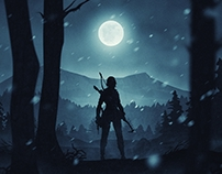 Rise of the Tomb Raider fan art poster