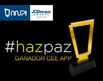 #Hazpaz - Mupi JcDecaux Awards