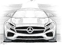 Mercedes coupe concept