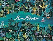 A River - picture book