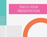 Capri Free Creative Presentation Template