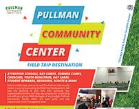 Pullman Community Center Flyer Design 2019 [Design]