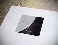 Création du logo Ar' ty mad