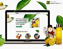 Web site fresh bottle