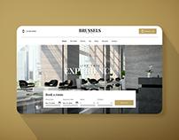 Belgian Hotel Website