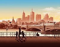 Nespresso Hoarding Melbourne Australia