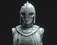 Norse Bust