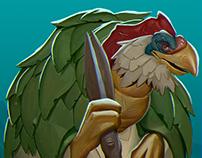 Chunky Chicken - Power Ranger's Monsters