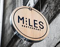 MILES - Branding, CI, Logo