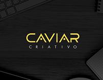 Branding e website Caviar Criativo