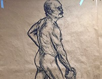 Nude Figure Drawings Part I