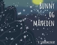 """""""Bunny og måneden"""" with my illustrations!"""