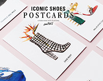 Iconic Shoes Postcards for Fashionary