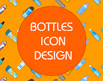Bottle Icon | Water Bottle Icon | Icons Design
