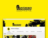 Anónimo Analógico Logo and Youtube