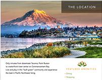 Gencare Retirement Living Brochure, Pt. Ruston, Tacoma