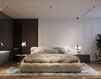 Master Bedroom  Sunshine Apartmentby K-Render Studio