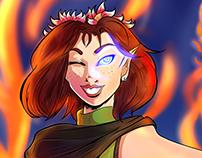 Character Design: Elf Arcanist