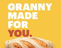 Granny's Bakery Branding