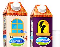 """Milk """"Ainalaiyn"""" likeagency.kz"""