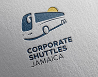 Corporate Shuttles Jamaica Logo Design