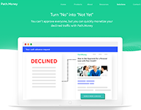 Concept Design For Loan Lending Website