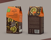 Organic cookies packaging