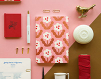 Blossom Gold Planners