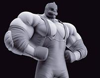 Jesop King 3D Model.