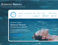 Re-design cosmetics online store