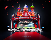 KIA FIFA World Cup 2018 - Key Visual