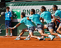 Nadal and co at Roland Garros