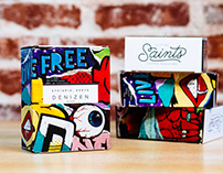City of Saints Coffee Roasters: Package Design
