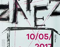Zářez - theatre poster