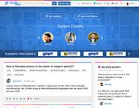 DoubtPoint - Responsive Website