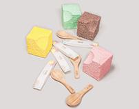 Package, Branding/ emís, organic modular macaron.