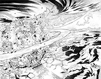 Inks for the Masters of Universe comics