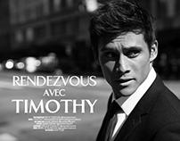 Celebrity: Timothy Granaderos / Editorial QPmag