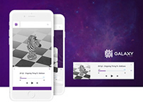 Galaxy Player - Application