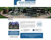 Responsive Website Design, Milton Construction