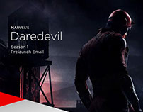 Marvel's Daredevil Prelaunch: Netflix Email Design