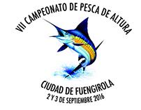 Logo concurso de pesca de altura ciudad de Fuengirola