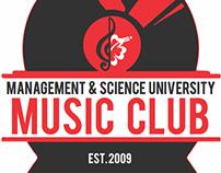 MSU Music Club (2014 Design)