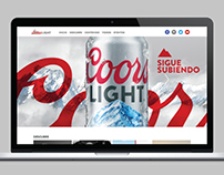Coors Light Puerto Rico Website
