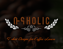 Buna-holic: a T-shirt design for coffee lovers