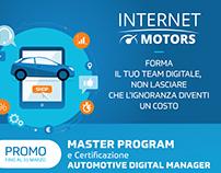 Internet Motors - materiale promozionale offline