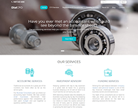 Financial & Accounting Web Template