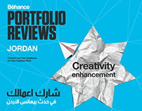 Behance Portfolio Review #7 Jordan