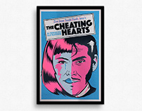 The Cheating Hearts – Gigposter