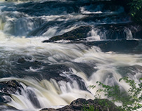 Waterfall at Madam Brett Park
